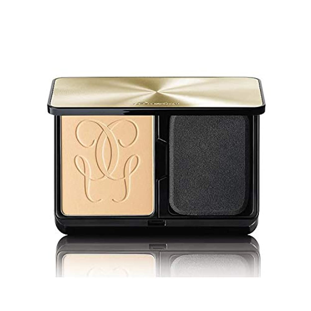 ゲラン Lingerie De Peau Mat Alive Buildable Compact Powder Foundation SPF 15 - # 01N Very Light 8.5g/0.29oz並行輸入品