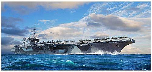 トランペッター 1/700 アメリカ海軍 空母 CV-64 コンステレーション プラモデル 06715
