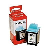 Lexmark 60 (17G0060) Color OEM Genuine Inkjet/Ink Cartridge (225 Yield) - Retail by Lexmark