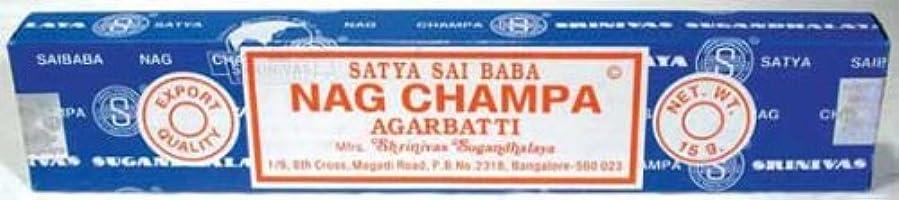 略語推論慈悲深いNag Champa sticks 15グラム( isnags ) -