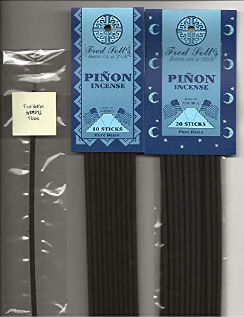ラオス人ホームレス失業Fred Sollの松のお香、20 Sticks