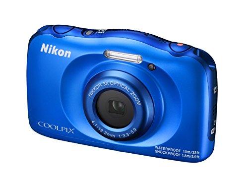 NikonデジタルカメラCOOLPIXW100防水W100BLクールピクスブルー