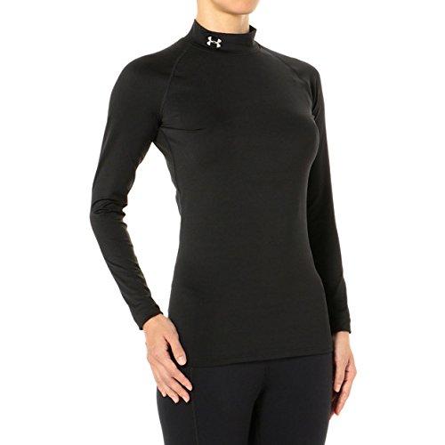 UNDER ARMOUR(アンダーアーマー) レディース スポーツインナーシャツ ヒートギア コンプレッション LSモック 長袖 1343027