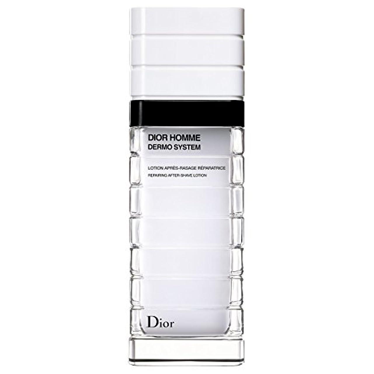 蒸カイウスステンレス[Dior] ディオールディオールオムの、真皮システムローションポンプボトル100ミリリットル - Dior Dior Homme Dermo System Lotion Pump Bottle 100ml [並行輸入品]