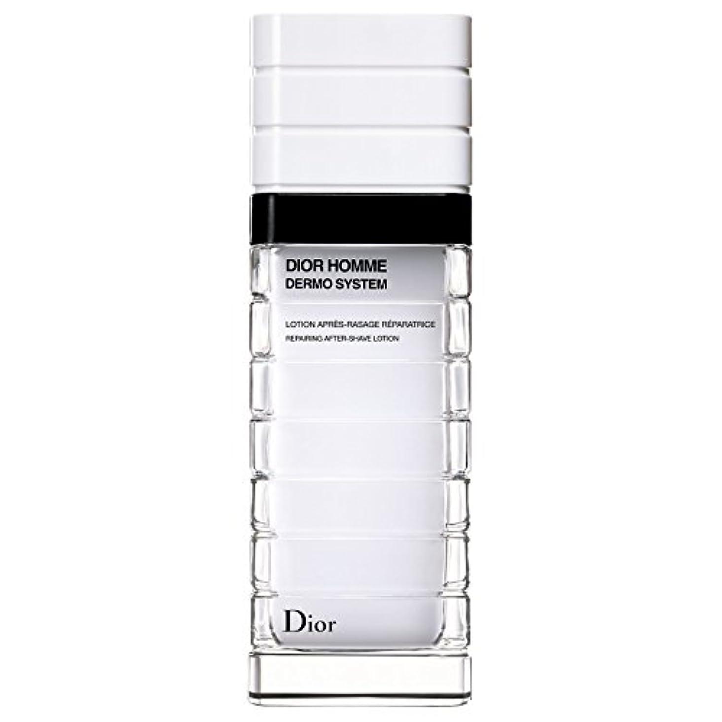 ダーベビルのテスなぞらえる溶接[Dior] ディオールディオールオムの、真皮システムローションポンプボトル100ミリリットル - Dior Dior Homme Dermo System Lotion Pump Bottle 100ml [並行輸入品]
