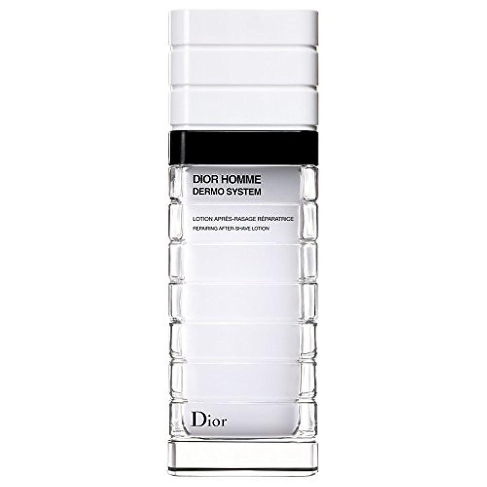 病気の終了するの間に[Dior] ディオールディオールオムの、真皮システムローションポンプボトル100ミリリットル - Dior Dior Homme Dermo System Lotion Pump Bottle 100ml [並行輸入品]