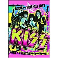 "KISS - Rock and Roll All Nite, Party Everyday, Original Artwork MAGNET, 2.5"" X 3.5"""