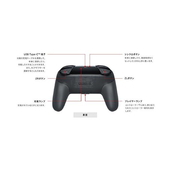 Nintendo Switch Proコントローラーの紹介画像4