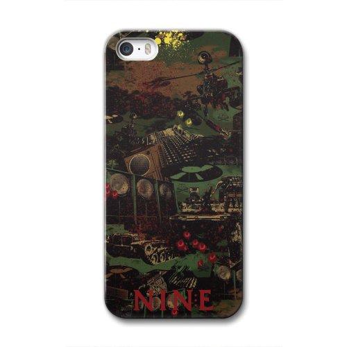 NINE RULAZ×collaborn iPhone5/5s専用スマートフォンケース NRL_02 BR-I5S-014