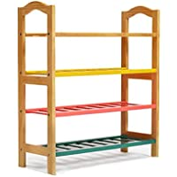 XABIANG 家庭用カラー収納棚ソリッドウッドエコノミーシューズラックリビングルーム (容量 : 74 * 28 * 82.5cm)