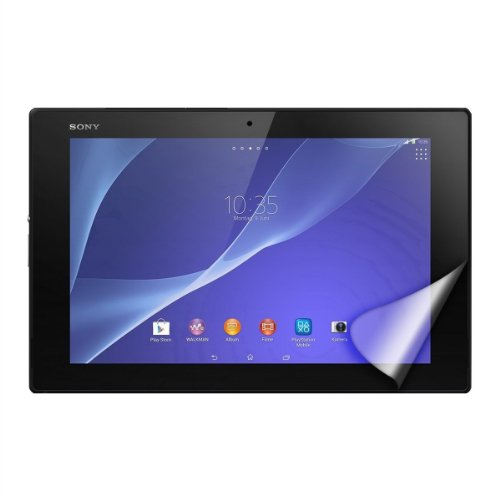 Xperia Tablet Z / Xperia Z2 Tablet 液晶保護フィルム ( エクスぺリアタブレット docomo SO-03E / Wi-Fiモデル 対応) 自己吸着式 SCREEN SHIELD コーティング スクリーンシート【画面保護&指紋防止】