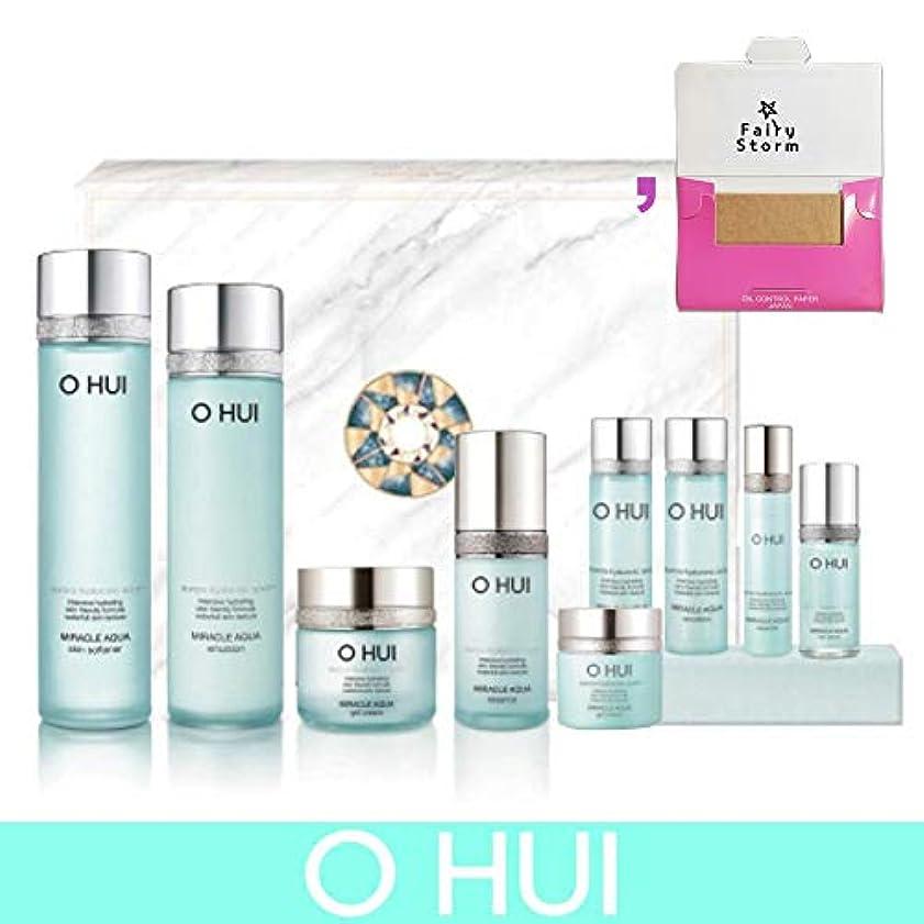 ゴールデン目に見えるこれまで[オフィ/O HUI]韓国化粧品 LG生活健康/O HUI MIRACLE AQUA SPECIAL 4EA SET/ミラクル アクア 4種セット + [Sample Gift](海外直送品)