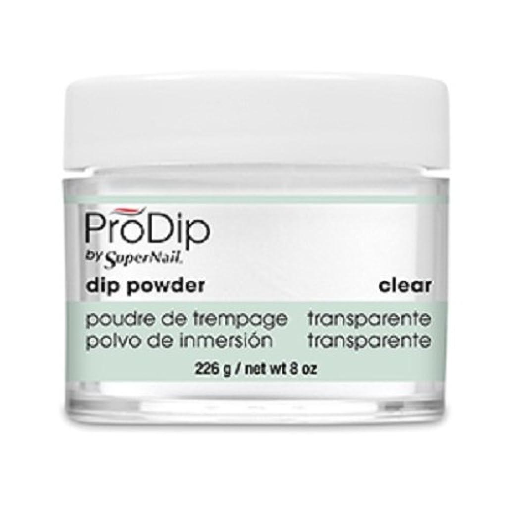 カポック然とした道に迷いましたSuperNail - ProDip - Dip Powder - Clear - 226 g/8 oz