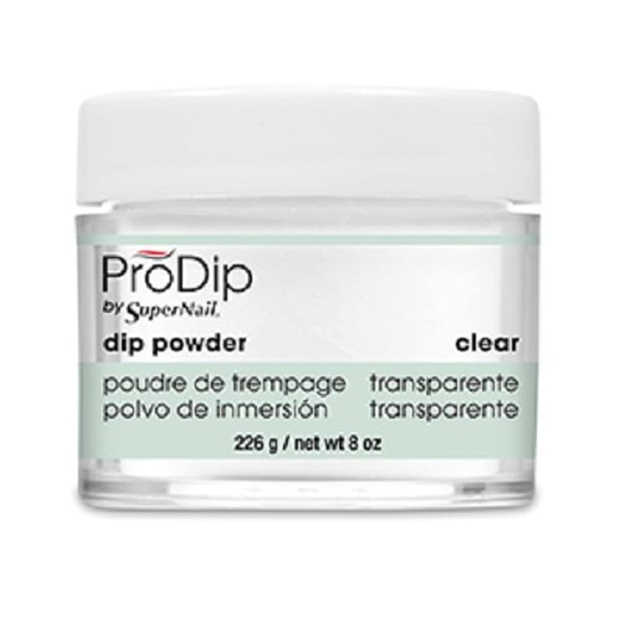 スカイ解放する行方不明SuperNail - ProDip - Dip Powder - Clear - 226 g/8 oz