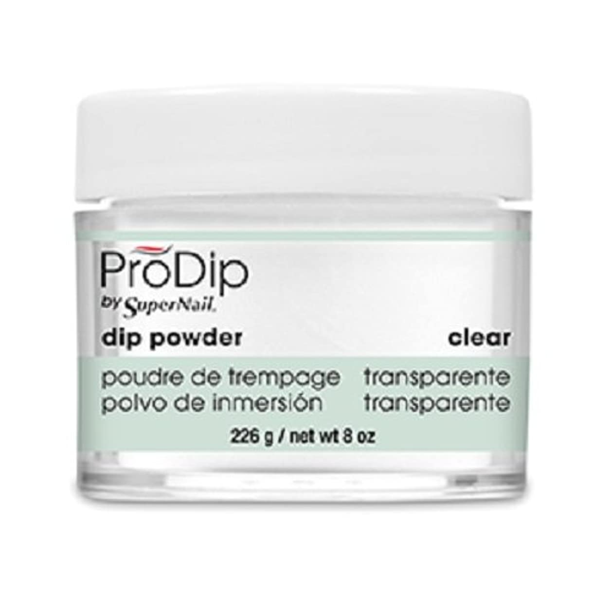 SuperNail - ProDip - Dip Powder - Clear - 226 g/8 oz