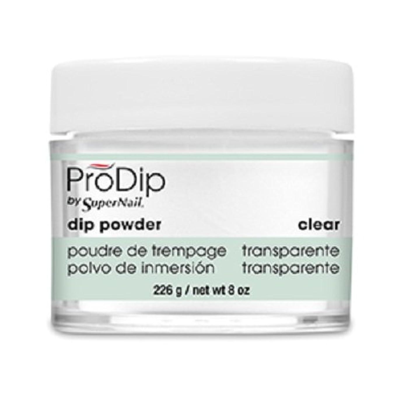 ボア風邪をひく難しいSuperNail - ProDip - Dip Powder - Clear - 226 g/8 oz