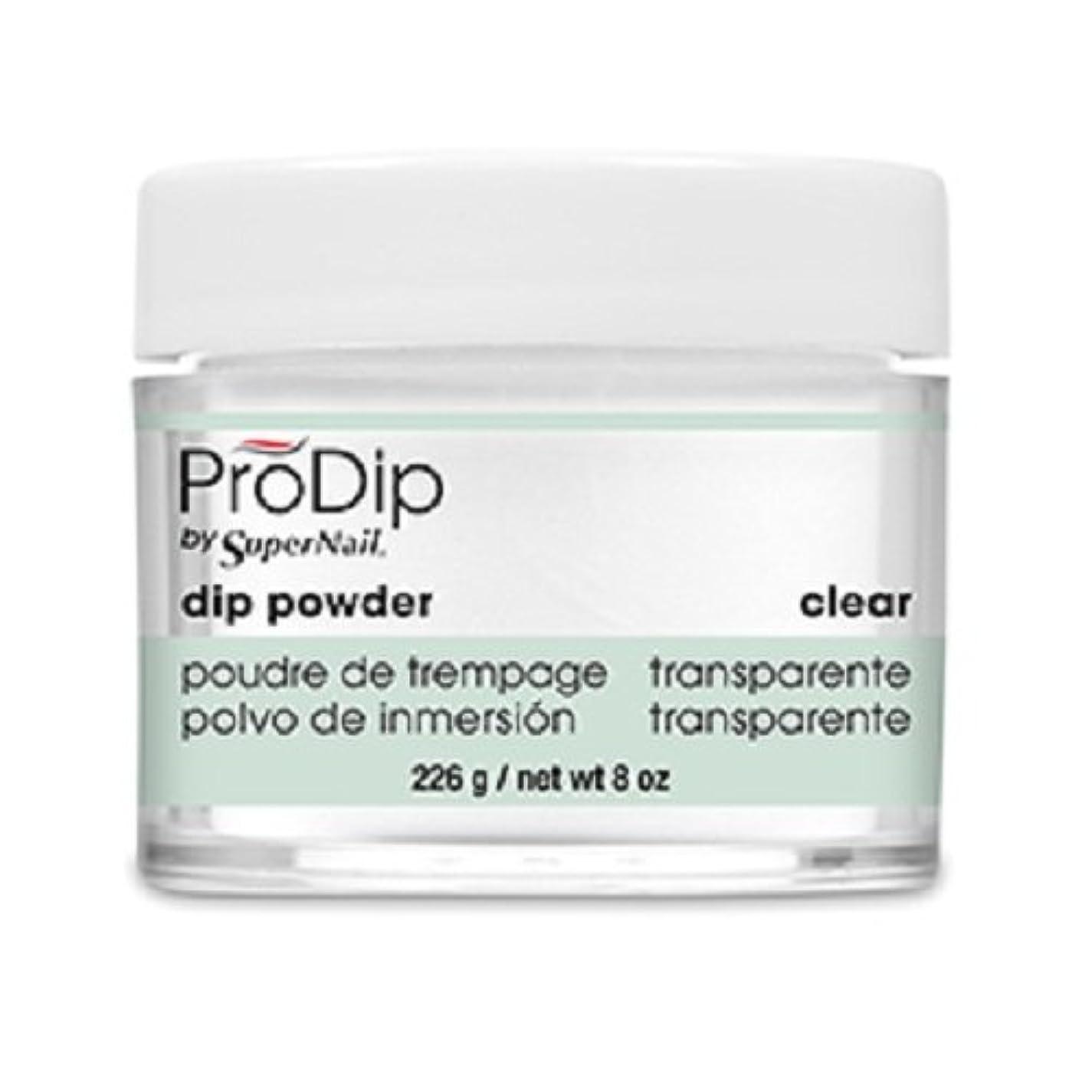 徴収シーケンス胸SuperNail - ProDip - Dip Powder - Clear - 226 g/8 oz