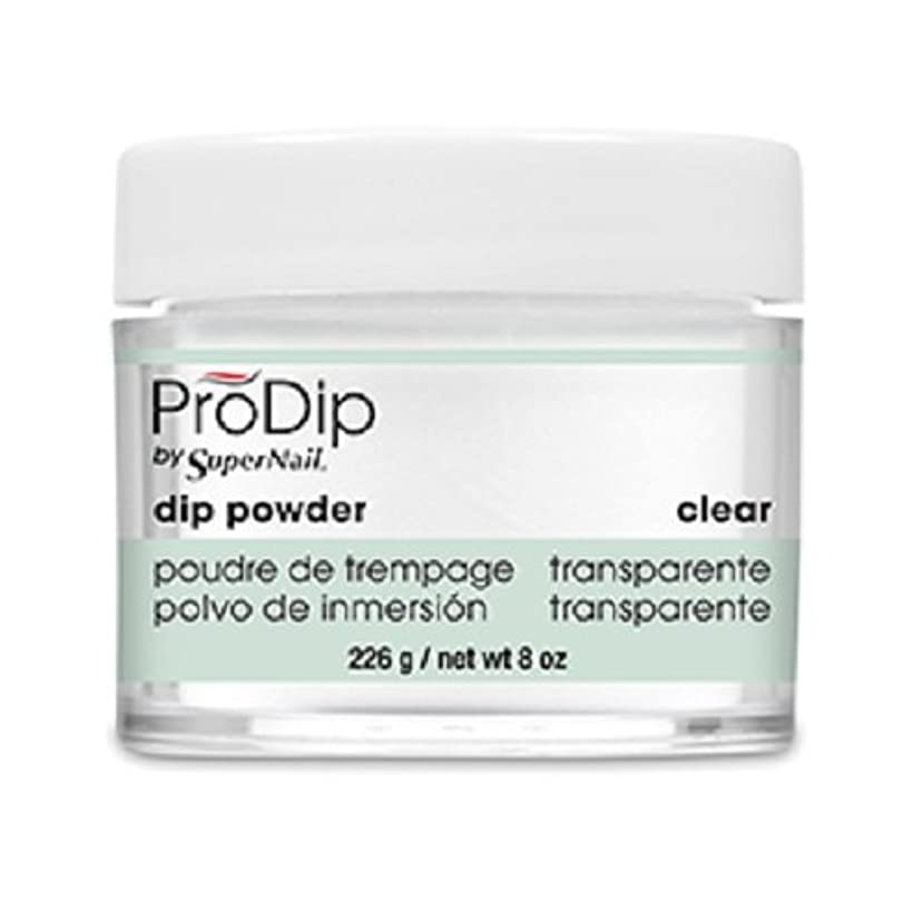 授業料せがむ体現するSuperNail - ProDip - Dip Powder - Clear - 226 g/8 oz