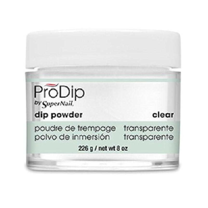 オープナー写真の古代SuperNail - ProDip - Dip Powder - Clear - 226 g/8 oz