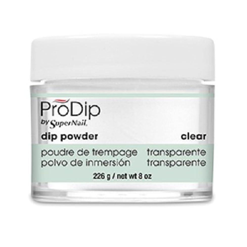 ジャム許可する遠近法SuperNail - ProDip - Dip Powder - Clear - 226 g/8 oz