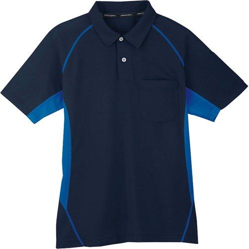 コーコス コーコス 半袖ポロシャツ 1ネイビー L MX7071L