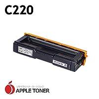 【APPLE TONER】互換トナー リコー ■C220(ブラック) × 1 対応機種:IPSiO SP C220 / IPSiO SP C220L / IPSiO SP C221SF / IPSiO SP 221SFL / IPSiO SP C230L / IPSiO SP C230SFL