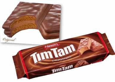 ティムタムチョコレートビスケット オリジナル(11枚)×4箱   (オーストラリアお土産)