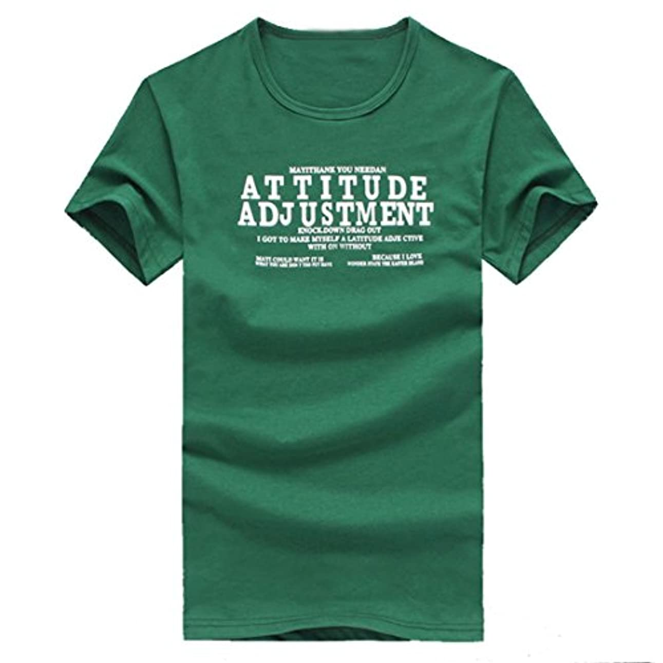 本物ジェット荒廃するルテンズ(Lutents)Tシャツ メンズ 半袖 緑 ドライ素材 スポーツ 吸水速乾 字母ロゴ ライオン プリント 父の日 おしゃれ シンプル 彼氏 プレゼント