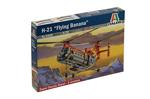 タミヤ イタレリ 1/72 飛行機シリーズ 1315 H-21 フライングバナナ 38315