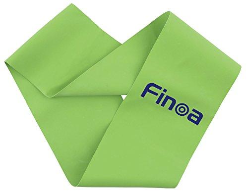 Finoa(フィノア) トレーニングチューブ シェイプリング (木場克己トレーナー監修) リング状・60cm グリーン 22185