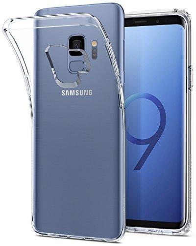 Spigen シュピゲン スマホケース Galaxy S9 対応 TPU 全面クリア 超薄型 超軽量 リキッド・クリスタル 592CS22826 (クリスタル ・クリア)