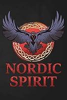 Wikstroem - Notes: Wikstroem Wikinger Rune Rabe Nordic Spirit - Notizbuch 15,24 x 22,86 unliniert