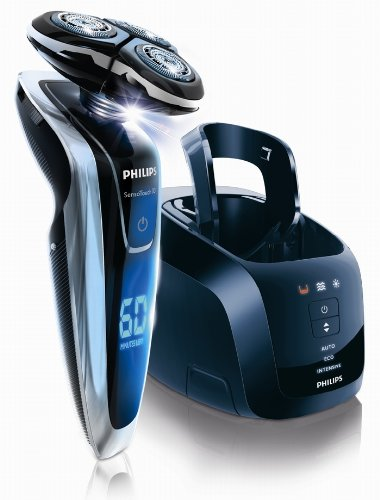 PHILIPS SensoTouch3D 【上下左右に自由自在・独立可動3Dシステムのかつてないフィット感! 】洗浄充電器付シェーバー RQ1280CC 〔発売記念特別パック・ノーズトリマー付き〕