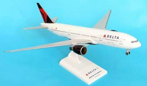 1: 200 スカイマークス Delta Air Lines ボーイング 777-200 New 2007 Colors, with Landing Gear (並行輸入)