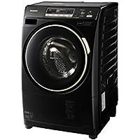パナソニック 6.0kg ドラム式洗濯乾燥機【左開き】コモンブラックPanasonic プチドラム エコナビ NA-VD220L-CK