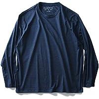 DANIEL DODD オーガニックコットン 無地 ロングTシャツ azt-180401 大きいサイズ メンズ 2L 3L 4L 5L 6L 7L 8L