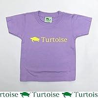 TURTOISE(タータス) キッズ 子供用 半袖Tシャツ K-BASIC LIGHT PURPLE 13S
