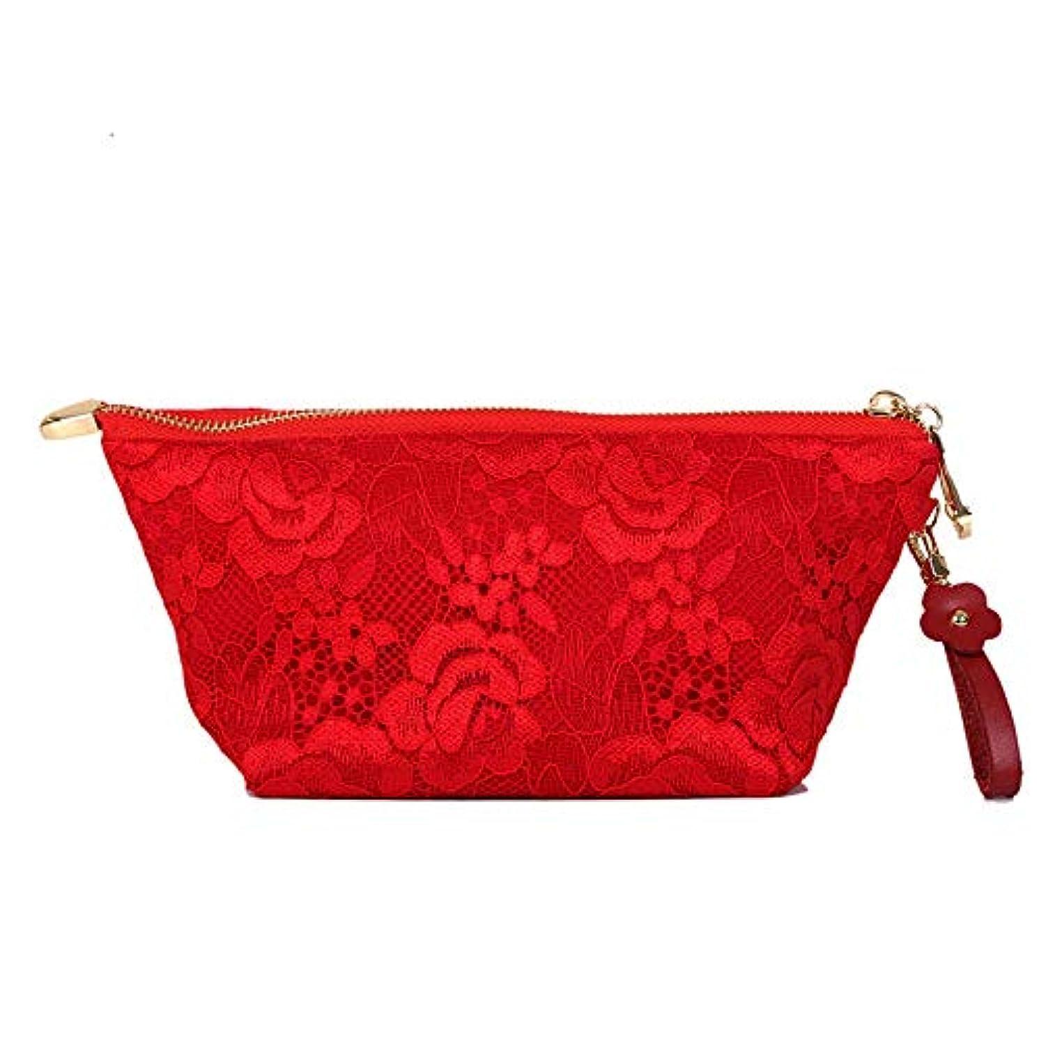 においメンバー二層エッセンシャルオイルボックス エッセンシャルオイルのスーツケース収納バイアルの10本のボトル ??- シェル型の赤のクラッチバッグはオイルストレージ統合袋を主催 アロマセラピー収納ボックス (色 : 赤, サイズ : 24.5X11X8.5CM)