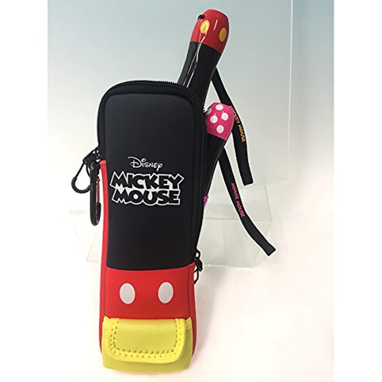 Disney(ディズニー) キングブレードポーチ 2本収納可能 カラビナ付き(ミッキーマウス) ケース ブレードバッグ