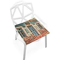座布団 低反発 油絵 店 ビロード 椅子用 オフィス 車 洗える 40x40 かわいい おしゃれ ファスナー ふわふわ fohoo 学校