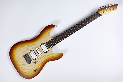 SAITO GUITARS S-622 HSH Honey Toast エレキギター