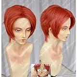 LUGANO ONE PIECE ワンピース 赤髪のシャンクス 風 コスプレウイッグ+ウイッグネット