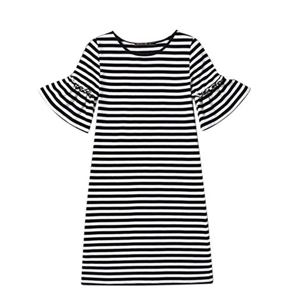 代表正確な電気的Blackfell 女性のドレス半袖長袖のスカートスリムTシャツスカート