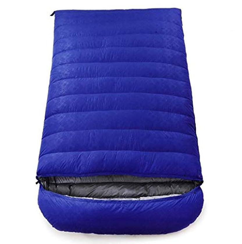 意識ええわずかにアウトドアアダルトキャンプ用寝袋フォーシーズン登山封筒ダブルウルトラライトダウン寝袋 (Capacity : 4.5kg, Color : Sky blue)