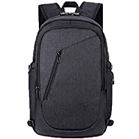 Anti-Theft Business Laptop Backpack with USB Charging Port Men Women Water Resistant Rucksack Business Bag Travel Daypack for Laptop/Notebook/Computer/Tablet