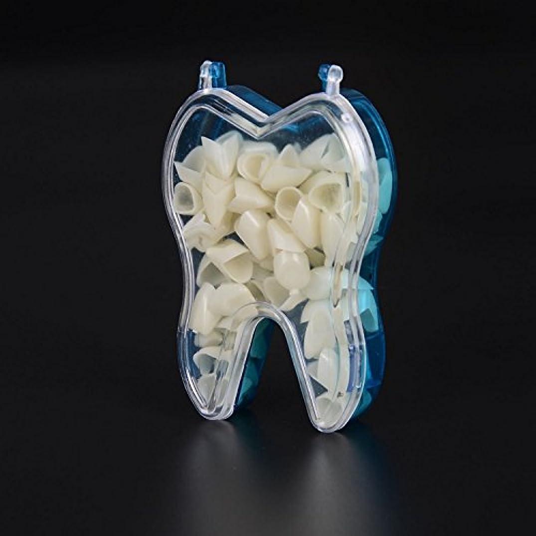小麦粉カロリー堀GoDen 前歯?後歯の樹脂ベニア テンポラリークラワン メタクリレート樹脂 100pcs