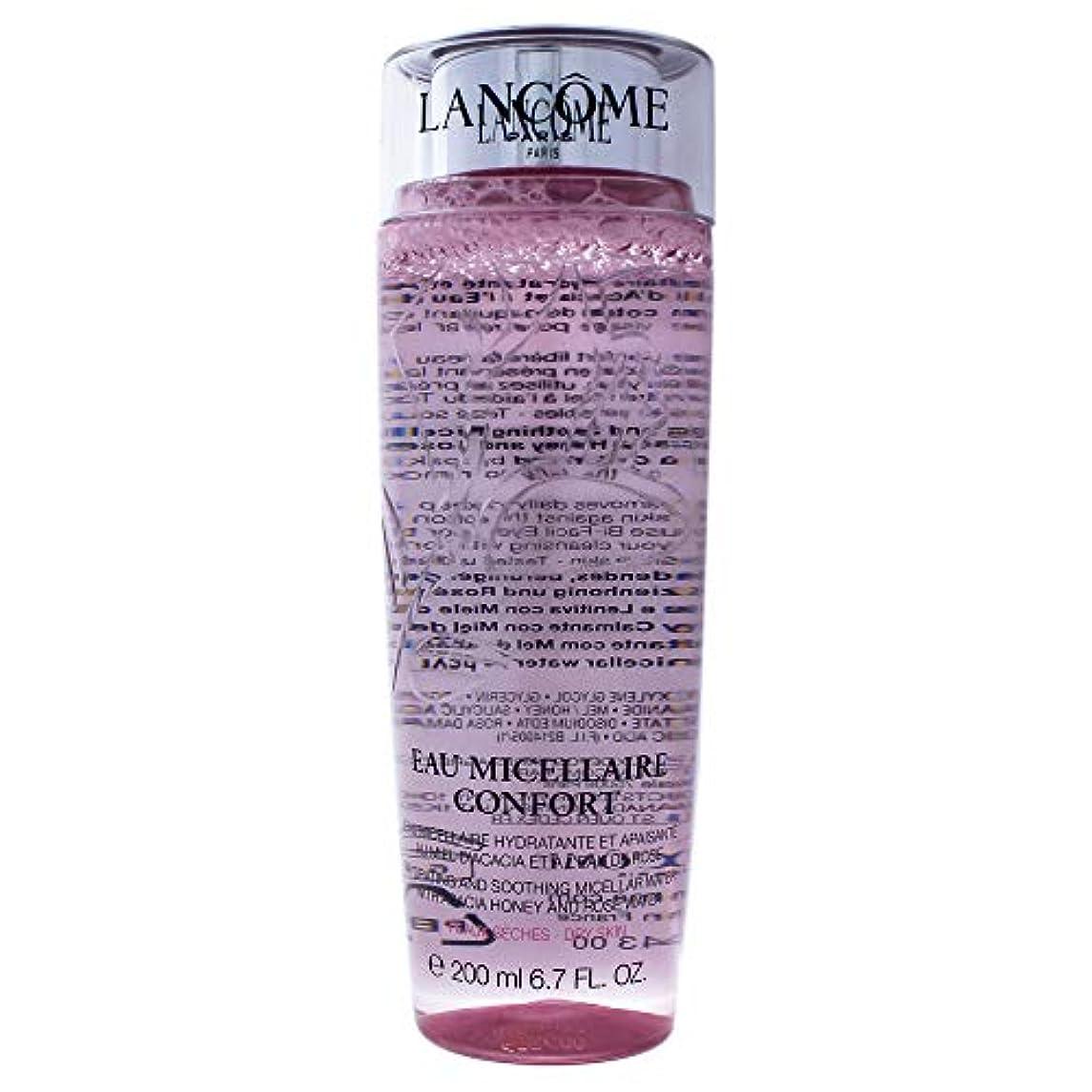 逆にコンデンサー接尾辞ランコム Eau Micellaire Confort Hydrating & Soothing Micellar Water - For Dry Skin 200ml/6.7oz並行輸入品