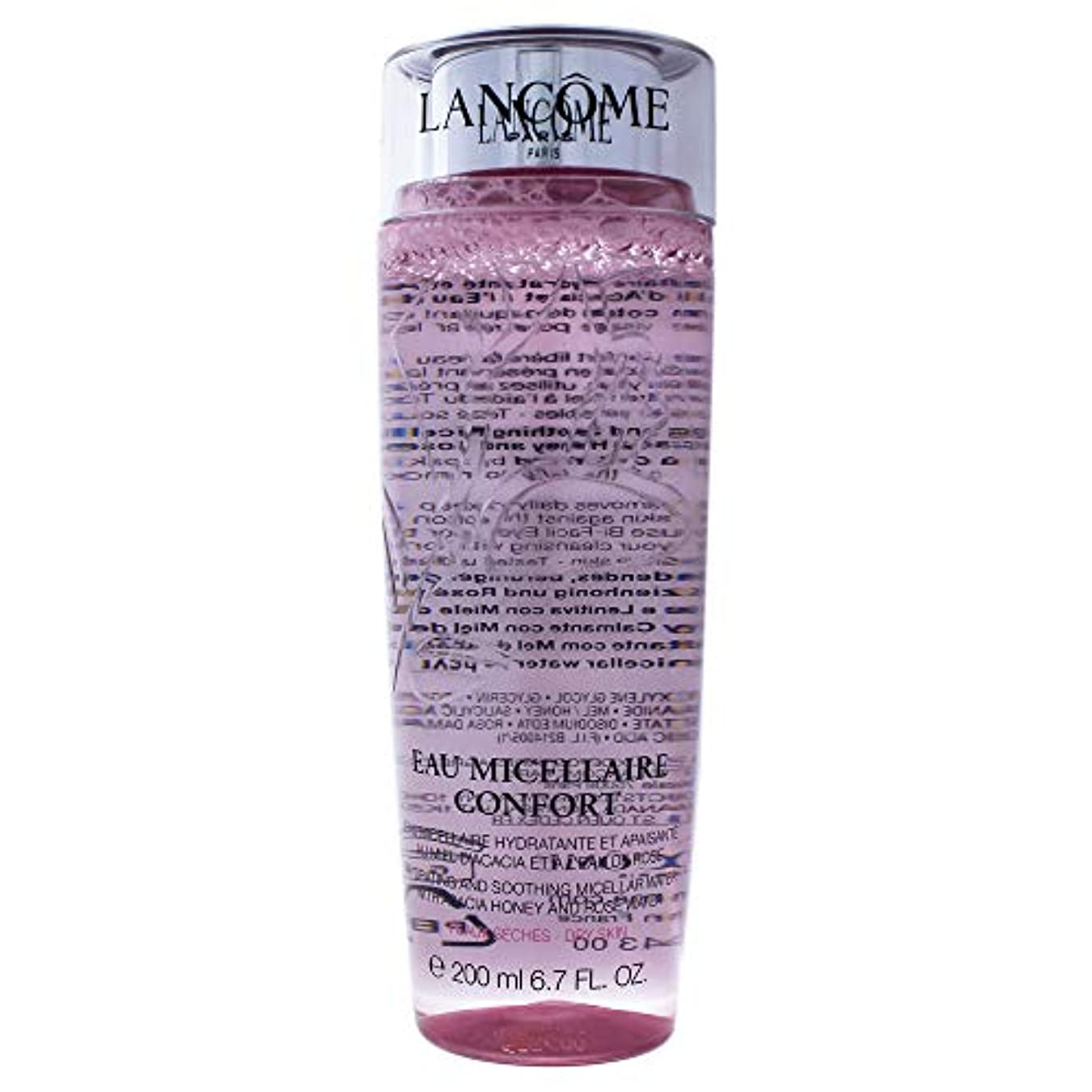 デクリメントアイザック自伝ランコム Eau Micellaire Confort Hydrating & Soothing Micellar Water - For Dry Skin 200ml/6.7oz並行輸入品