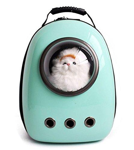 Iiomise ペット バッグ ペット用キャリーバッグ 宇宙船カプセル型ペ...