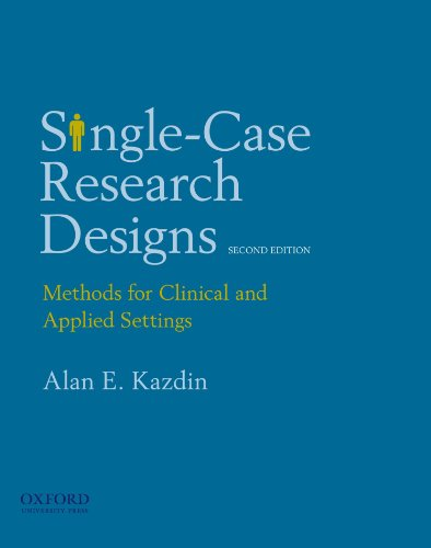 Download Single-Case Research Designs: Methods for Clinical and Applied Settings 0195341880